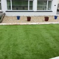 fully fitted artificial grass installed by our fitters for one of our customers in Bridgend