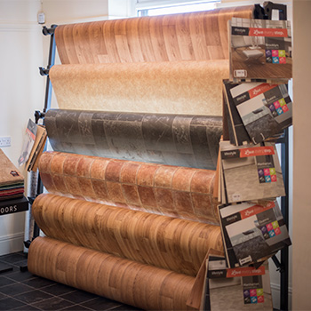 good selection of our vinyl flooring at Stores 4 Floors in our Pontyclun showroom